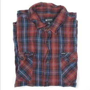 Men's Matix Long Sleeve Flannel XL